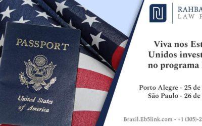 Investidores brasileiros: agora é a melhor hora de obter o Green Card